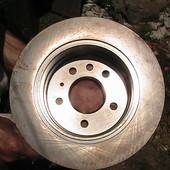 диски задние тормозные Opel Omega 2,0