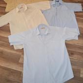 Летние рубашки 3шт (ворот 15,5-16), M-ки!