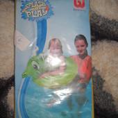 Новый надувной круг для плавания  дракончик, 3-6 лет