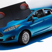 Тюнинговая задня полиця Ford Fiesta 2010 поліпшить звучання динаміків завдяки вбудованим подіумах пі