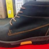 Зимние ботинки кожа