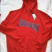 Новое худи с флис начесом фирменное Lonsdale Англия L размер