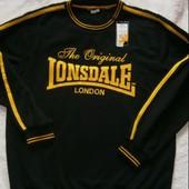 Замечательная новая теплая толстовка Lonsdale Англия XL размер