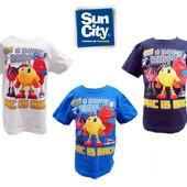 """Футболки детские на 3-6 лет """"Pac-Man"""" (пиксель), бренд """"sun city"""" (Франция)"""