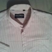 продаю  рубашку льнаную б\у
