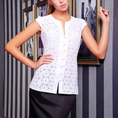 "Женская блуза ""Флори"" с коротким рукавом"