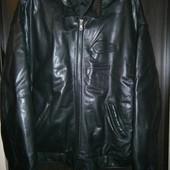шедевр кожанная курточка Reebok Iverson 2xl из сша