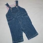 GAP фирменный джинсовый комбинезон