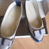 Пролет с размером-кожан.туфли-балетки 37разм.