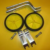 Дополнительные боковые колесики на детский велосипед колеса вспомогательные
