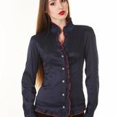 """Женская блуза """"Калина"""" с длинным рукавом"""