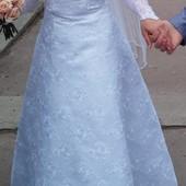 Свадебное платье 44 46 р