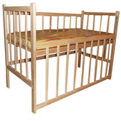 Детская кроватка Регулировка дна по высоте опускание боковушки