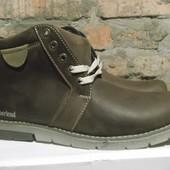 добротные мужские  зимние ботинки