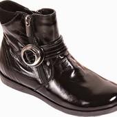 Демисезонные ботинки на девочку р32 стелька 21см