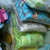 Постельные комплекты в детские кроватки