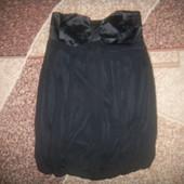 маленькое черное платье шифон