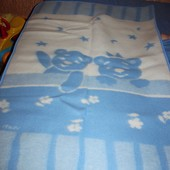 Новое теплое детское одеялко