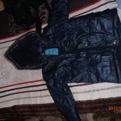 Зимнее пальто на мальчика, р.98