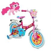 Велосипед двухколесный My Little Pony от 2 лет,диаметр 12,колеса белые с вставками