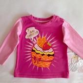 Детская кофта Gloria Jeans  с рукавом для девочки 6-12 месяцев (74-80 рр