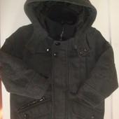 Пальто демисезонное Next на мальчика 3 3,5 года, рост 98 104 см
