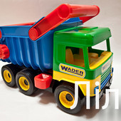 Игрушечный самосвал Middle Truck, Wader, арт.39222