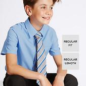 Рубашка школьная Marks & Spencer 9-10 и 11-12 лет.