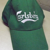 кепка мужская Carlsberg ( надевали пару раз )