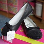 Туфли ортопедические для девочки новые чёрные размер 32,34