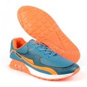 Nike Air Max реплика мятно-оранжевые Sport лучшая цена