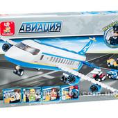 """Конструктор Sluban """"Аэробус"""", 463 дет."""