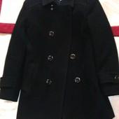 черное кашемировое пальто на мальчика 6-7 лет