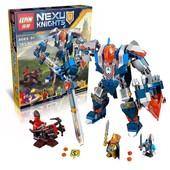Конструктор Lepin 14008 Робот короля. Nexo Knights нексо найтс