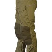 Мужские тактические брюки с усиленными наколенниками и шлейками