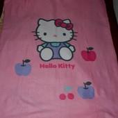 Фирменный плед на кровать девочке Хеллоу Китти Hello kitty