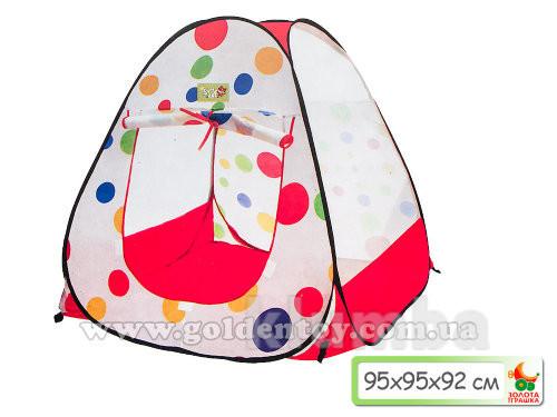 Палатка ромб курглый 95*95*92 см. фото №1