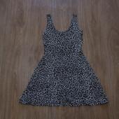 Стильное леопардовое платье Atmosphere, размер 8, состояние новой вещи.