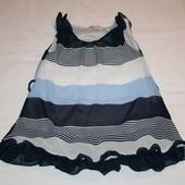 Стильное детское нарядное платье на 8 лет