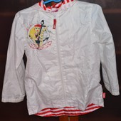 Куртка ветровка на 8-9 лет