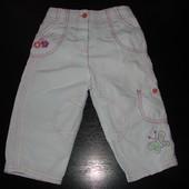 классные штаны M&S 9-12 мес  состояние отличное как новые