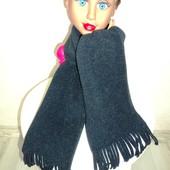 Фирменный флисовый шарф на 1-6 лет длина 115 см