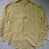 Рубашки фирменная льняная Gap