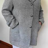 Шерстяной пиджак - очень тёпленький! Размер: 46 / 18 / XXXL
