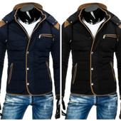 супер теплая зимняя мужская куртка