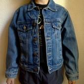 Акция. Джинсовый пиджак ( куртка). 13-15 лет