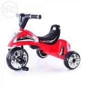 Детский трехколесный велосипед Eva Foam M 5343, красный