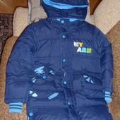 Зимнее пальто на мальчика