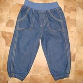 джинсы BHS 12-18 мес пояс-резинка состояние новых Джинсы отличные,очень удобны в носке.