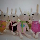 Милые игрушки-брелоки Bunny, новые
